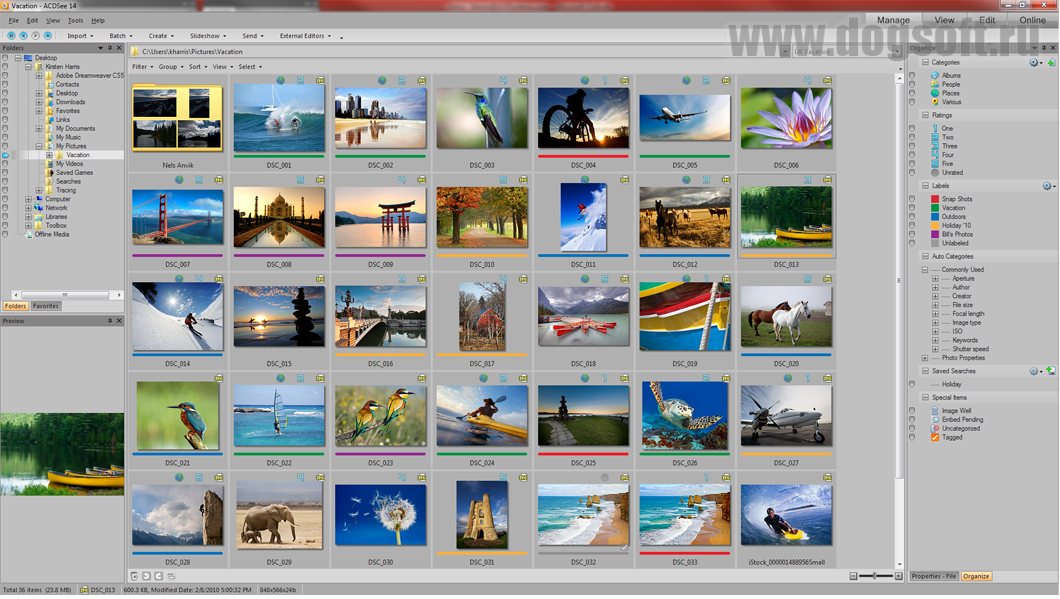 Просмотрщик изображений ACDSee. Скачать ...: dogsoft.ru/programmyi/windows/grafika/prosmotr-izobrazhenij/acdsee...